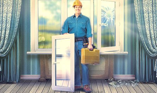Профессиональный ремонт, сервисное обслуживание окон для Вас на любую услугу от компании «МАруСЯ» со скидкой 20%!