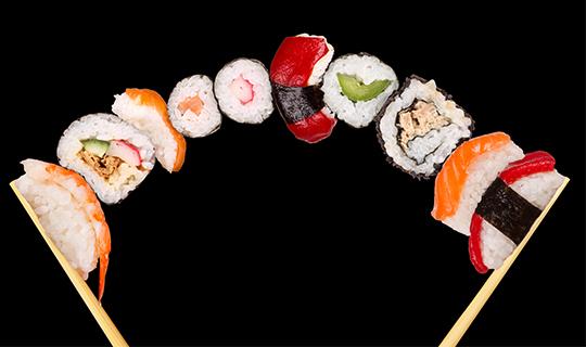 Новые сеты на любой вкус от «Мане Суши» со скидкой 50%