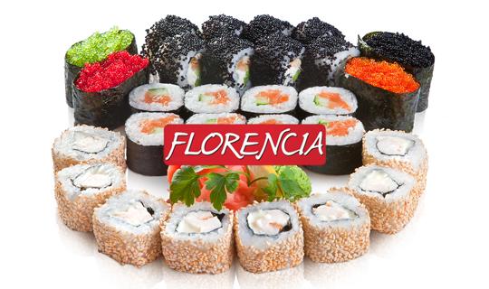 Доставка вкусных и сытных сетов от «FLORENCIA» со скидкой до 70%!